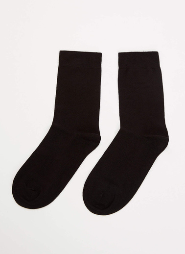 DeFacto 2'li Çorap Siyah